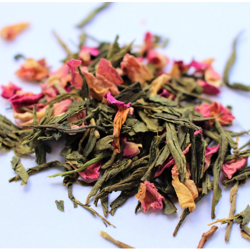 Rose Geisha tea blend